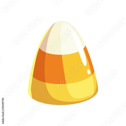 Fotografia Jelly candy isolated three color marmalade dessert realistic icon