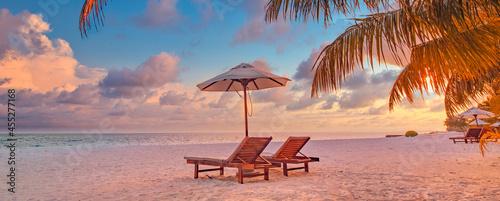 Obraz na plátně Beautiful beach
