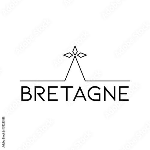 Logo breton, breizh, Fototapet