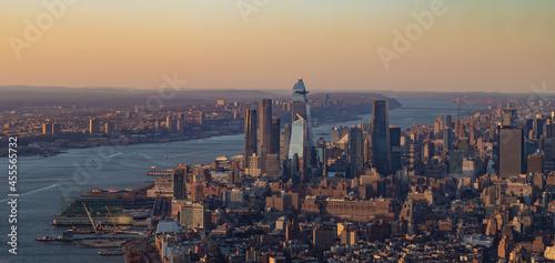 Fotografie, Obraz Hudson Yards Sunset