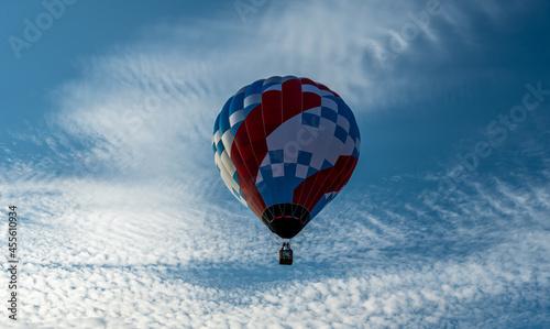 Canvastavla Hot air balloons taking flight