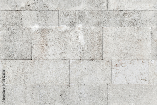 Stampa su Tela Seamless photo texture of a gray stone wall