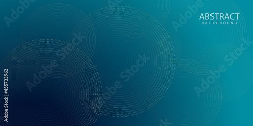 Obraz na płótnie Blue and light blue line technology background, futuristic striped box with light effect on blue and light blue background