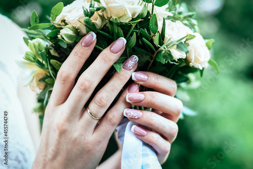Obraz na plátně Wedding Bouquet of flowers