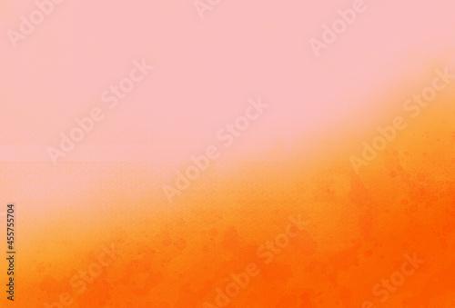 Fotografie, Obraz 薄いピンクとオレンジのグラデーション