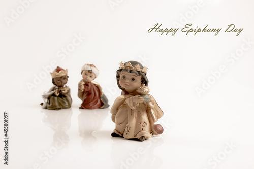 Happy Epiphany day concept Fototapet