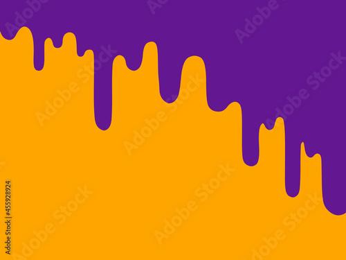 Canvastavla オレンジ色に紫がたれてる少し怖い感じの背景素材