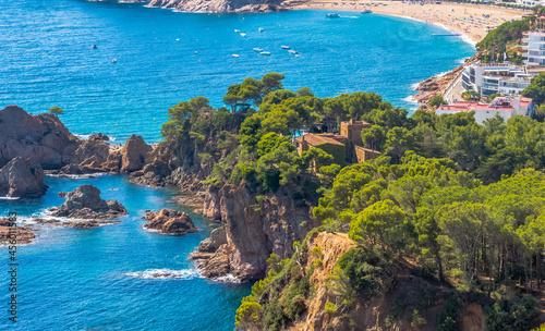 Foto Ville de Tossa de Mar, Costa Brava, Espagne