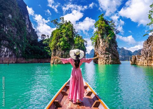 Tela boat, beach, thailand, sea, island, water, travel, bay, ocean, landscape, sky, a