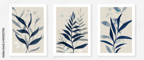 Photographie Watercolor abstract art background vector