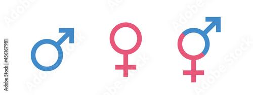 Fotografia Gender symbols