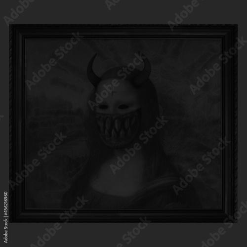 Photo The Devil Mona Lisa - Ghostwoman