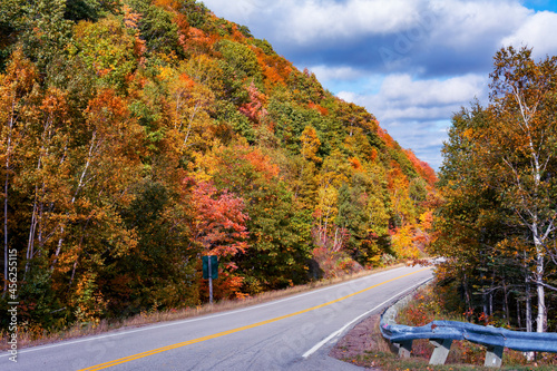 Fotografía Cabot Trail in Autumn Colors - Autumn colors are out on the trees and their foliage along the Cabot Trail