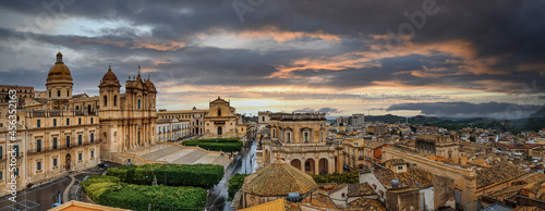 Obraz na plátně Noto-Sicilia