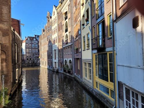 canals Amsterdam Fotobehang