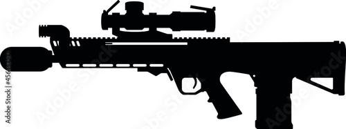 Obraz na plátně New Generation Squad Weapon Beretta General Dynamics RM277 AR R machine gun assa