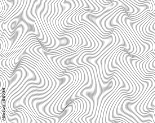 Lines abstract background, light black and white color Fototapet