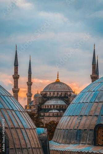 Fotografie, Obraz blue mosque city
