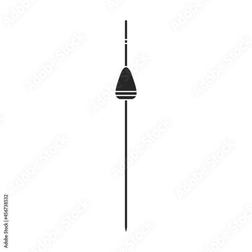 Fotografia Fishing rod vector icon