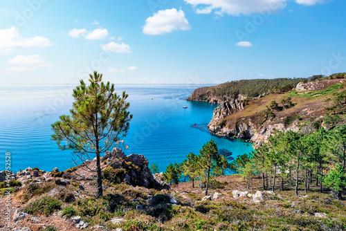 Foto Crozon peninsula in Brittany, France