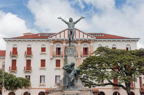 Valokuvatapetti Poços de Caldas, Minas Gerais, Brasil - Praça Pedro Sanches, Centro