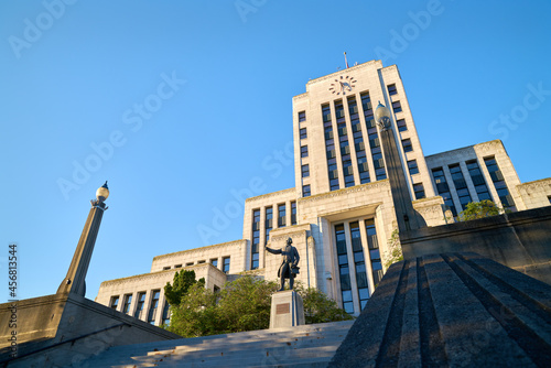 Foto Vancouver City Hall Steps