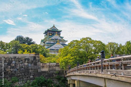 Murais de parede 大阪城