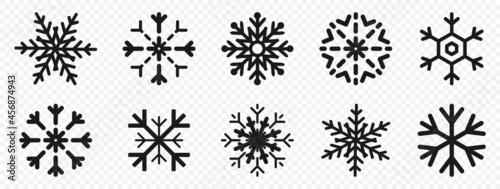 Fotografie, Obraz Snowflakes