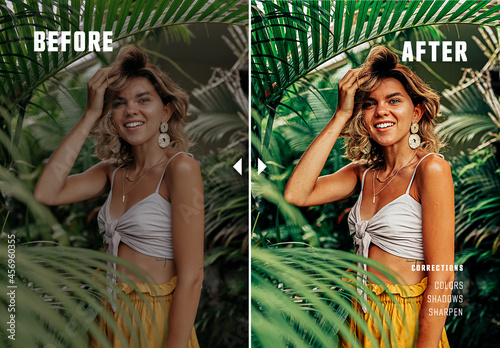 Before and After Photo Effect