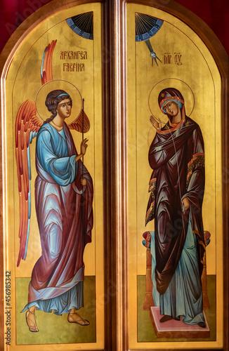 Photo Icon. Annunciation