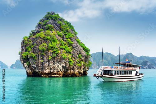 Fotografie, Obraz boat on the island