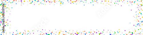 Valokuvatapetti Festive flawless confetti. Celebration stars. Brig