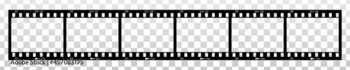 Fotografija Contact sheet - six frames. Fragment of a photographic film.