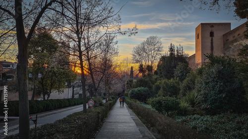 Fotografering Camino a la Alhambra