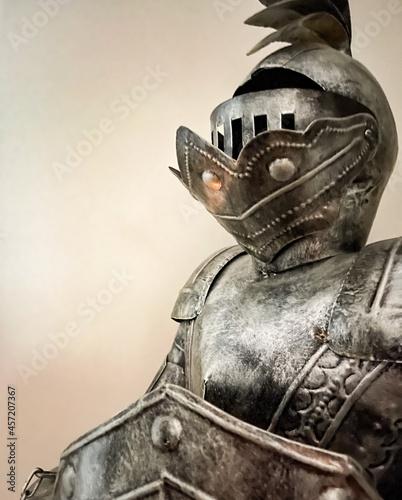 Murais de parede medieval knight in armour
