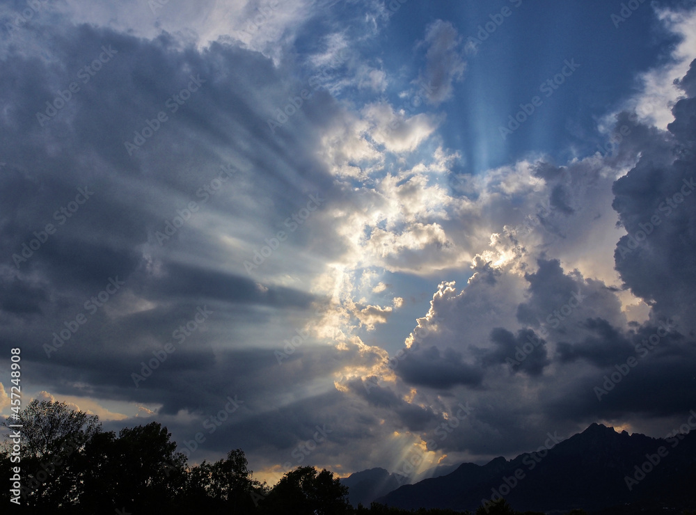 Niebo - chmury