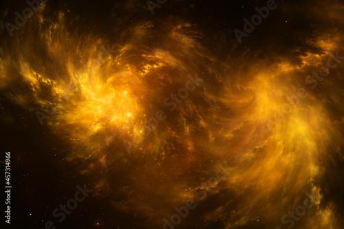 Fotografie, Obraz Beautiful space background