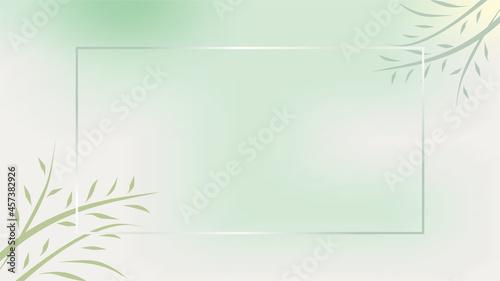 Fotografie, Obraz New background, beautiful light gray minimalist botanical in blurred picture
