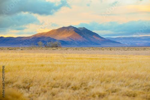 Mountains in Southeast Oregon Alvord Desert
