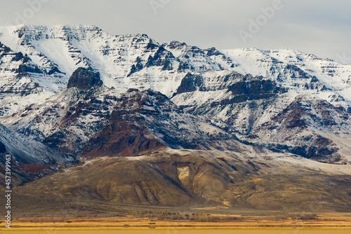 Steens Mountains Hovering Over The Alvord Desert