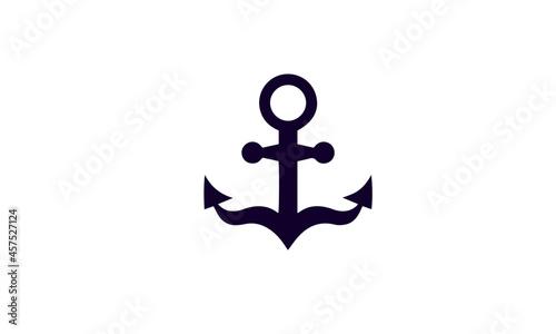 Foto , Anchor icon set vector design