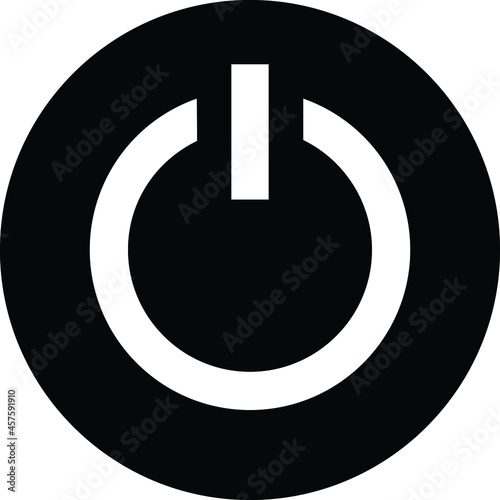 Fotografia computerhardware    power button  and turn on