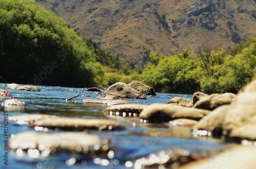 Fotografía patagonia, sur, acuático, río, naturaleza, lago, paisaje, verano, cielo, roca, m