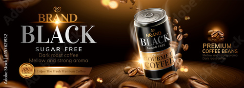 Fotografija Coffee beverage vector