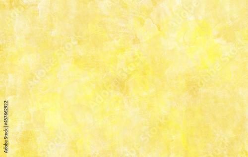 Obraz na plátně 金色水彩画筆跡コラージュテクスチャ背景和紙風素材横長高解像度350印刷対応