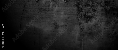 Obraz na plátně Old dirty concrete cement texture. horror cement background.