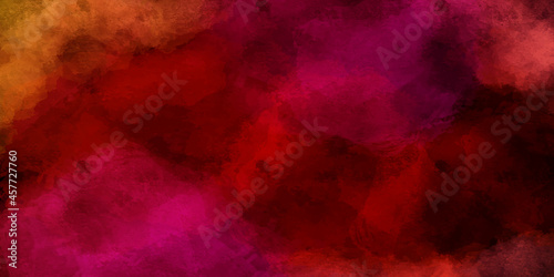 Colorful fuchsia neon paper textured aquarelle canvas for modern creative design Fototapet