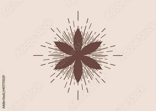Foto Seed of life symbol Sacred Geometry