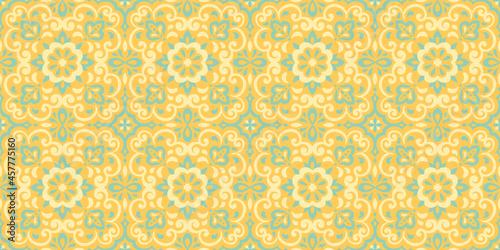Fotografiet Azulejos ceramic tile design