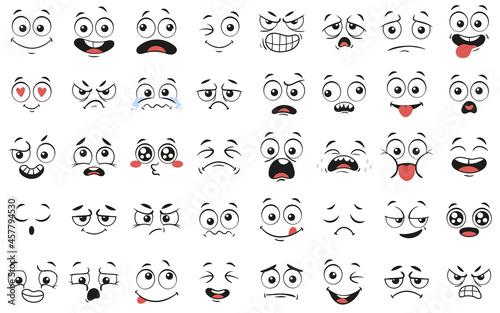 Fotografering Cartoon faces